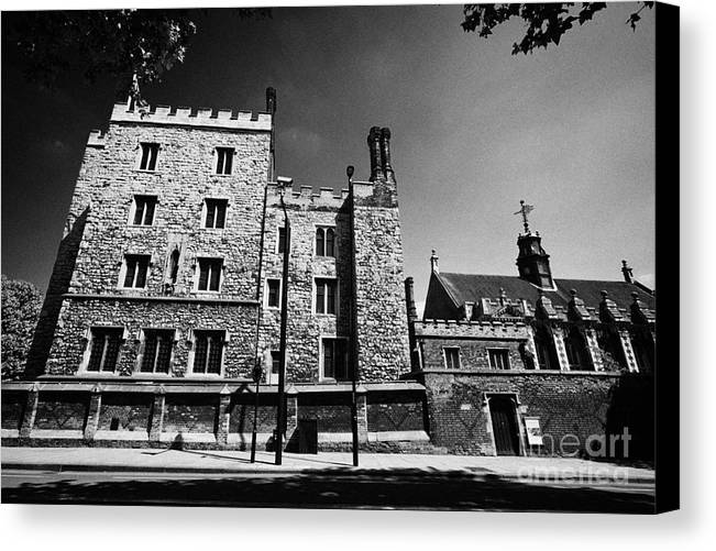 Lambeth Canvas Print featuring the photograph lambeth palace library London England UK by Joe Fox