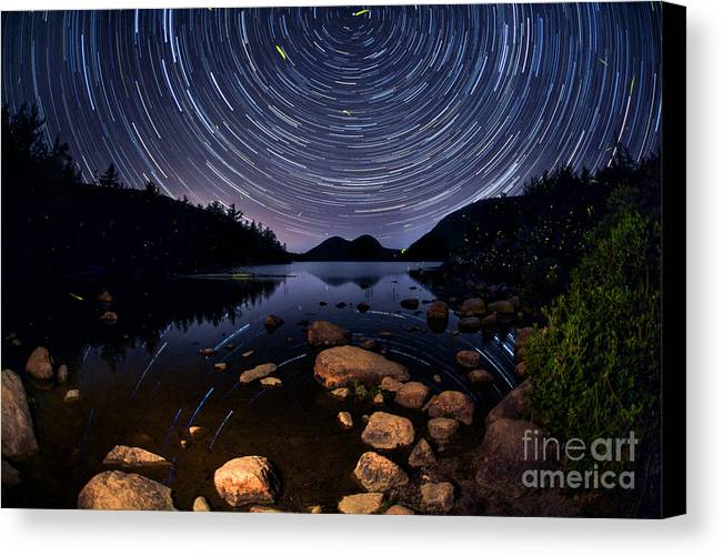 Jordan Pond Canvas Print featuring the photograph My Midsummer Dream by Marco Crupi