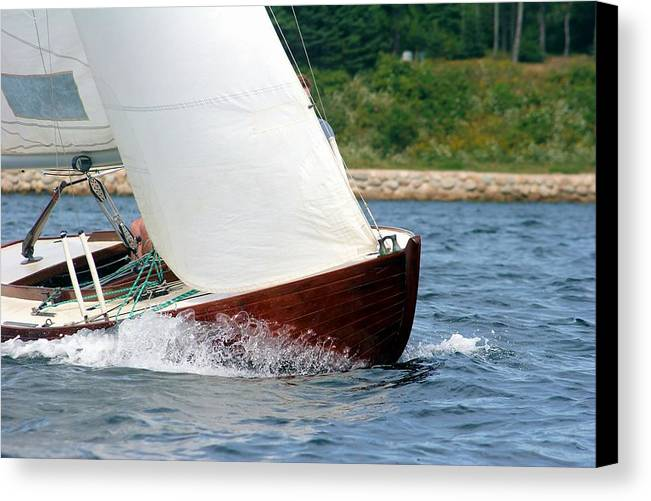 Sail Canvas Print featuring the photograph Run With The Wind by Frank Luxford