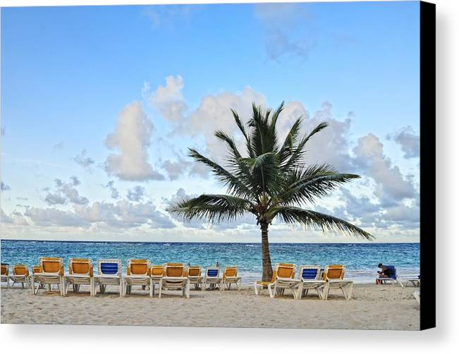 Landscape Canvas Print featuring the photograph Evocacion03 by Ricardo Hernandez