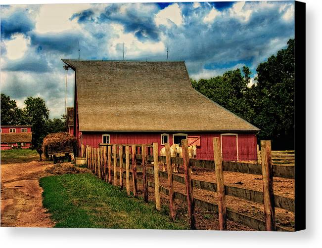Huisken Canvas Print featuring the photograph 100 Years by Lyle Huisken