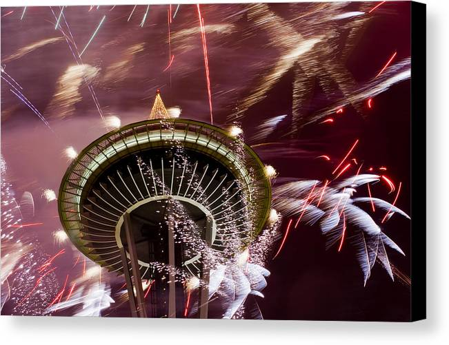 New Year Canvas Print featuring the photograph 2009 New Year H066 by Yoshiki Nakamura