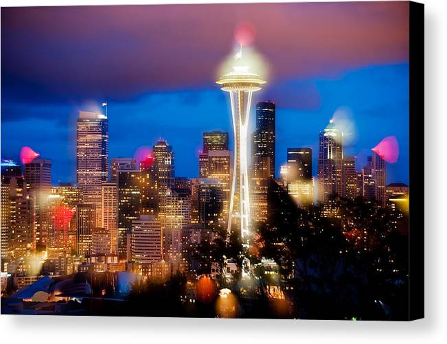 Seattle Canvas Print featuring the photograph Color Explosion by Yoshiki Nakamura