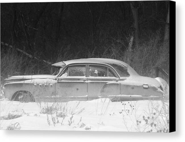 Cars Canvas Print featuring the photograph Family Car.. by Al Swasey