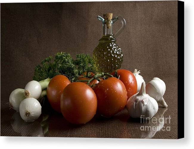 Fresh Canvas Print featuring the photograph Ingredients by Jeannie Burleson