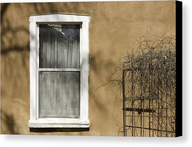 Photography Canvas Print featuring the photograph Old Window by Carmo Correia
