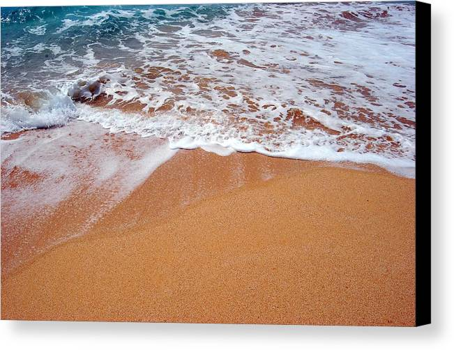 Canvas Print featuring the photograph Soothing by JK Photography