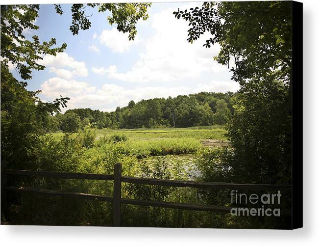 Tranquility Canvas Print featuring the photograph Tranquility by Jeannie Burleson