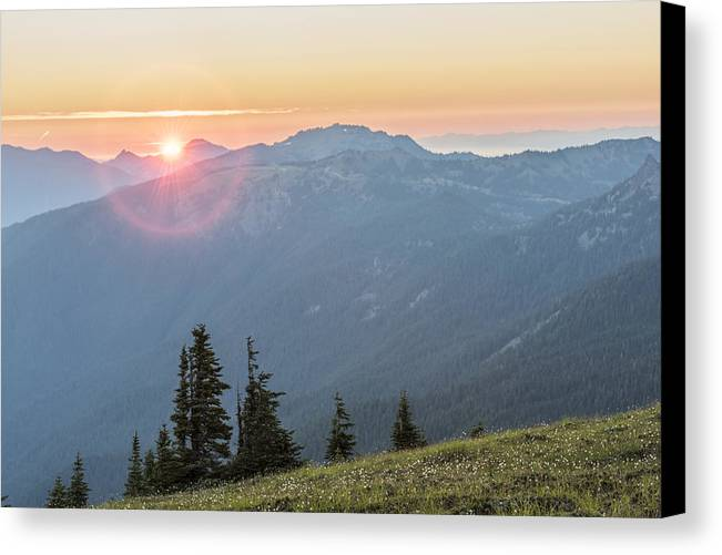 Art Canvas Print featuring the photograph Twilight Is Coming by Jon Glaser