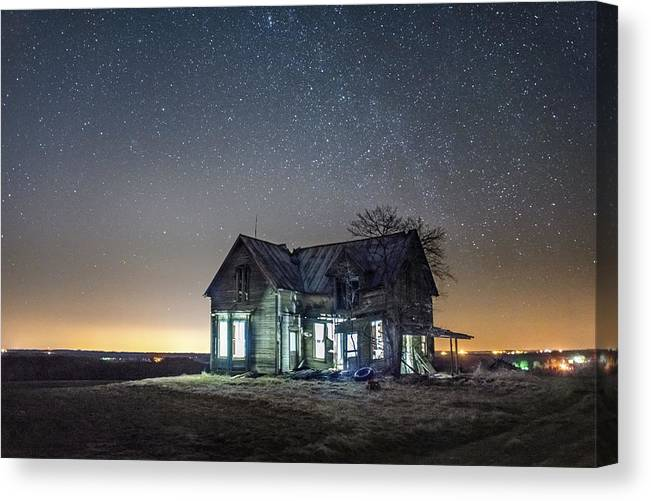 Landscapes Canvas Print featuring the photograph All But Forgotten by Toni Taylor