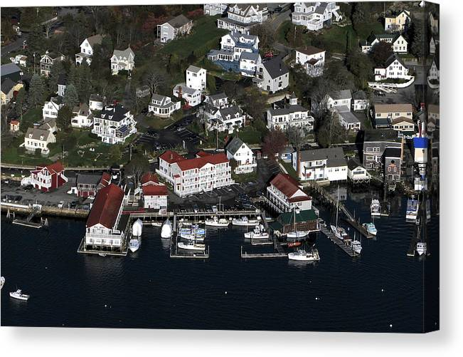 America Canvas Print featuring the photograph Boothbay Harbor, Maine by Dave Cleaveland