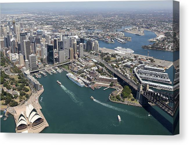 Australia Canvas Print featuring the photograph Sydney Cove by Brett Price