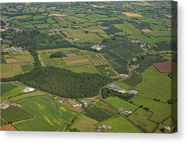 Armagh Canvas Print featuring the photograph Loughgall Orchards, Armagh by Colin Bailie