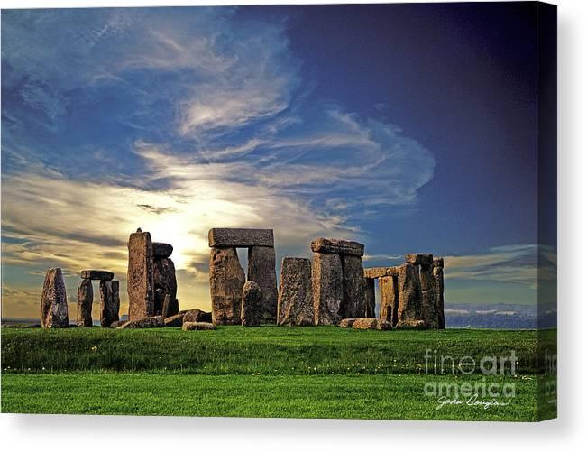 Stonehenge Canvas Print featuring the photograph Stonehenge by John Douglas