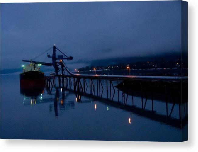 Port Canvas Print featuring the photograph Port Of Seward - Alaska by John OBrien