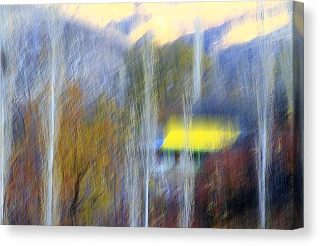 Cottages Canvas Print featuring the photograph Enticer by Robert Shahbazi