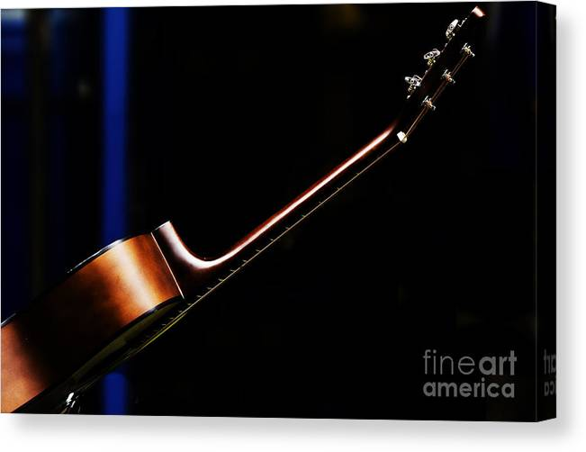 Guitar Canvas Print featuring the photograph Guitar by Sheila Smart Fine Art Photography