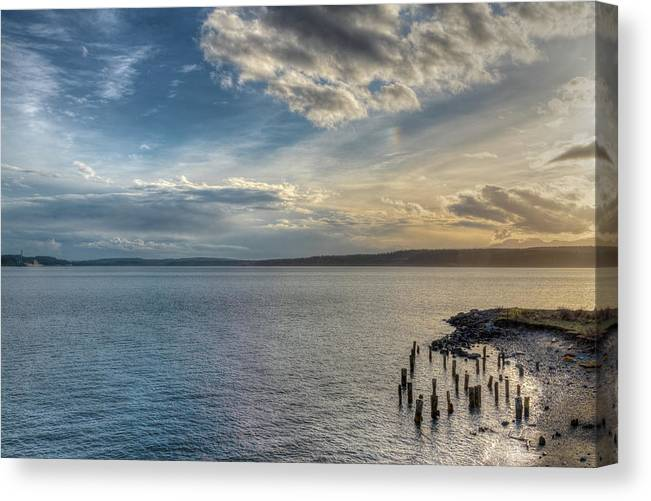 Port Townsend Canvas Print featuring the photograph Beyond Oz by Spencer McDonald