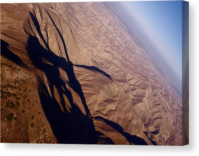 Aerial Photography Canvas Print featuring the photograph Tilt 1 by Sylvan Adams