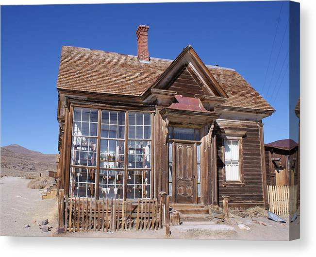 Bodie Canvas Print featuring the photograph Bodie by Rick Repp
