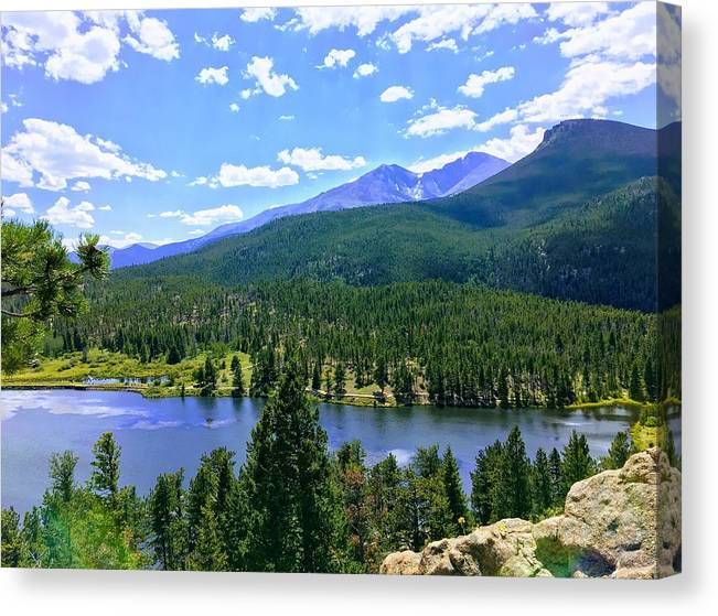 Lily Lake-Estes Park-Colorado by Sarah Knochel