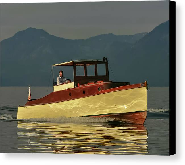 Wood Canvas Print featuring the photograph Nice Day by Steven Lapkin