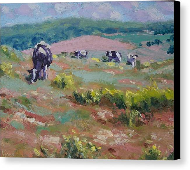 Oil On Canvas Canvas Print featuring the painting Life Is Good by Michael Vires