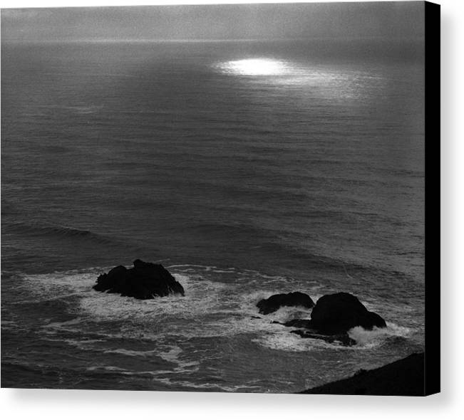Nature Canvas Print featuring the photograph Ocean Light by Benjamin Garvey