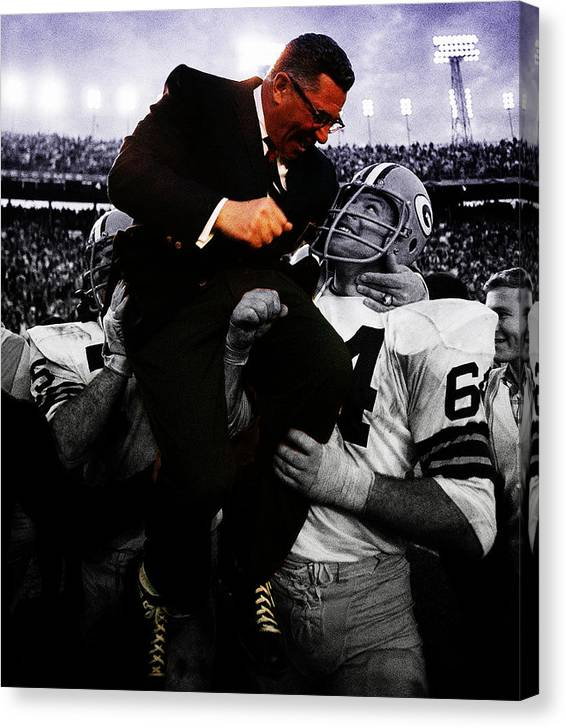 Vince Lombardi Sweet Victory by Brian Reaves