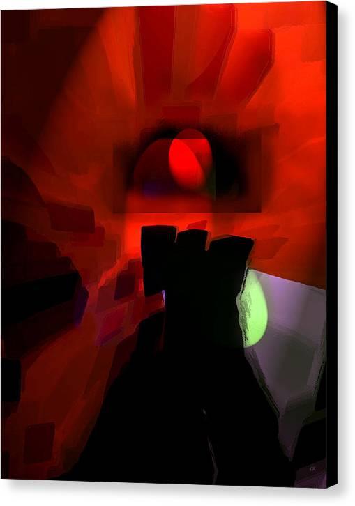 Abstract Digital Art Canvas Print featuring the digital art Spirit by Gerlinde Keating - Galleria GK Keating Associates Inc