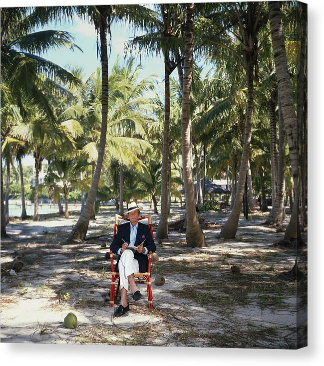 Working Canvas Print featuring the photograph Abaco Islander by Slim Aarons