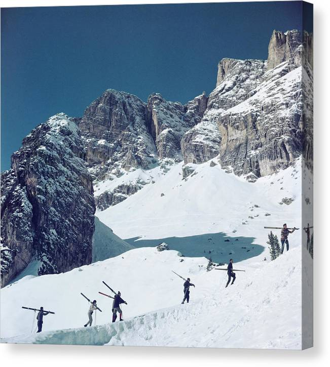 Cortina Dampezzo Canvas Print