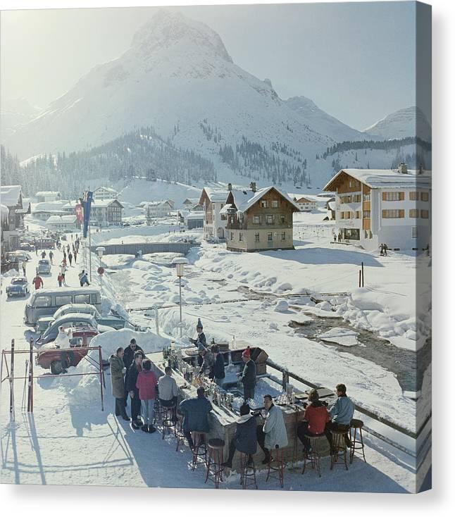Lech Ice Bar Canvas Print