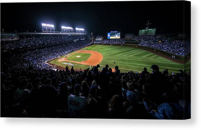 Animal Canvas Print featuring the photograph Mlb Oct 29 World Series - Game 4 - by Icon Sportswire