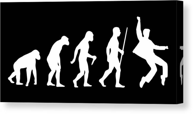 Elvis Canvas Print featuring the digital art Elvis Evolution Pop Art by Filip Schpindel