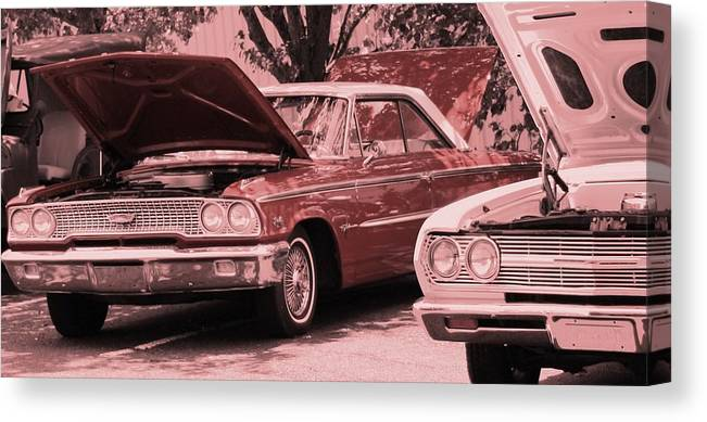 Car Canvas Print featuring the photograph Hot Rod by Lisa Johnston