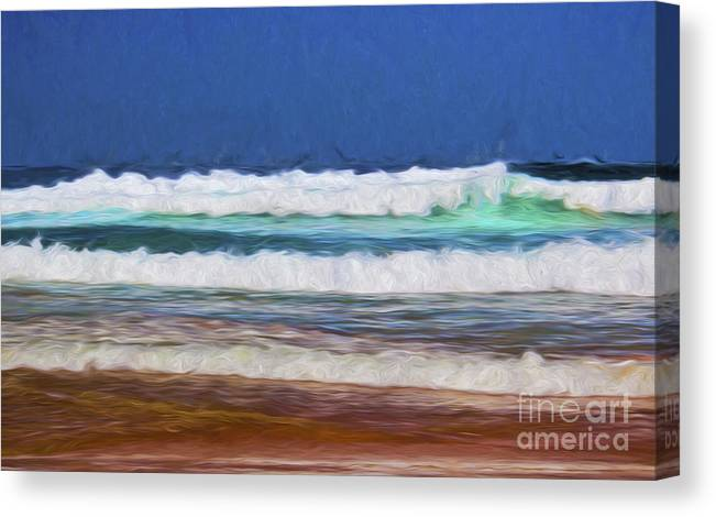 Surf Canvas Print featuring the photograph Surfs up by Sheila Smart Fine Art Photography
