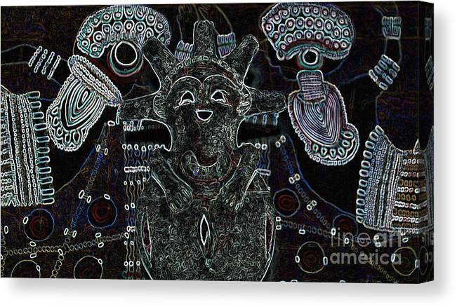 Tribal Canvas Print featuring the photograph Hopi by Michelle S White