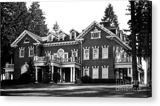 Washington State Governor S Mansion 1920s Canvas Print Canvas