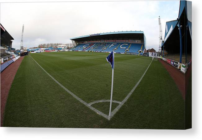 England Canvas Print featuring the photograph Carlisle United v Northampton Town - Sky Bet League Two by Pete Norton
