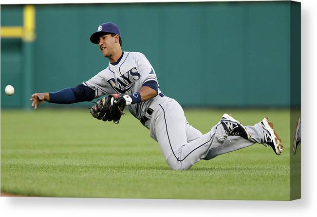 American League Baseball Canvas Print featuring the photograph Alex Avila by Duane Burleson