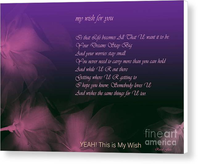 My Wish For you.. Rascal Flatts by Trilby Cole