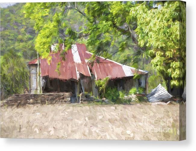 Derelict House Canvas Print featuring the photograph Renovators delight by Sheila Smart Fine Art Photography