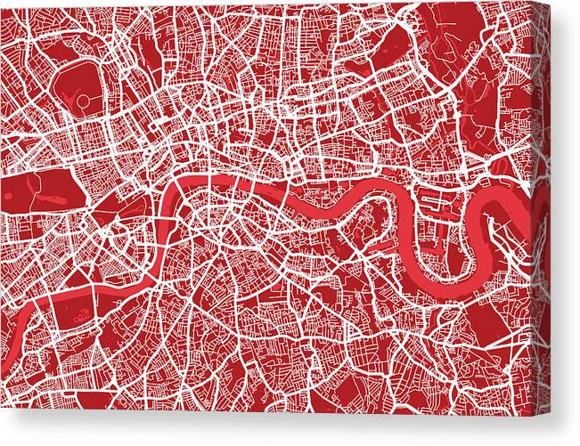 Red Map London
