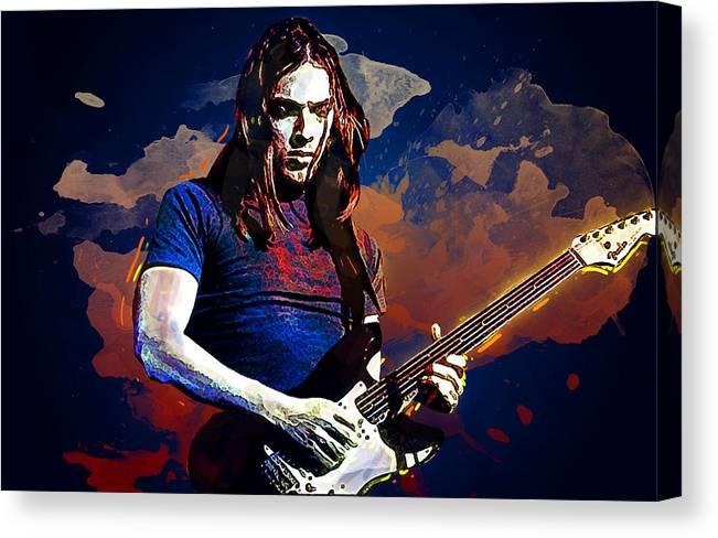 David Gilmour. Pink Floyd. by Lilia Kosvintseva