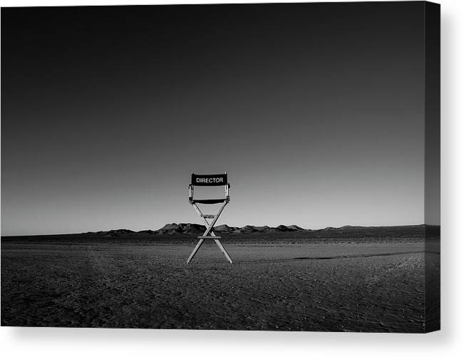 Canvas Print featuring the photograph Director's Cut by Brendan North