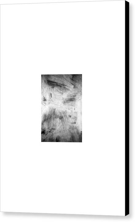 Collage Abstract Canvas Print featuring the painting Streetart... La Vie Morte by David M Davis