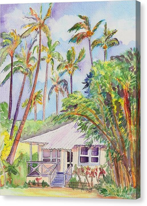 Tropical Waimea Cottage by Marionette Taboniar
