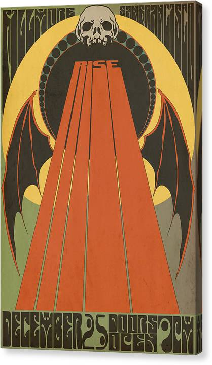 Rise At The Fillmore San Francisco Canvas Print