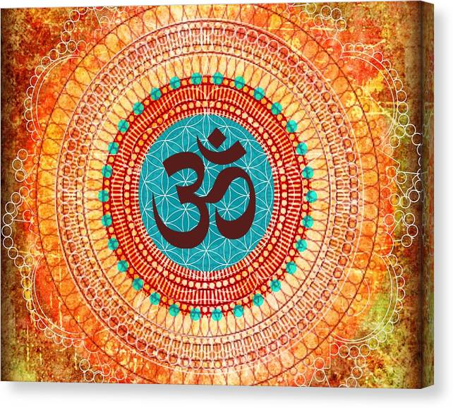 Limited Time Promotion: Ohm Stretched Canvas Print